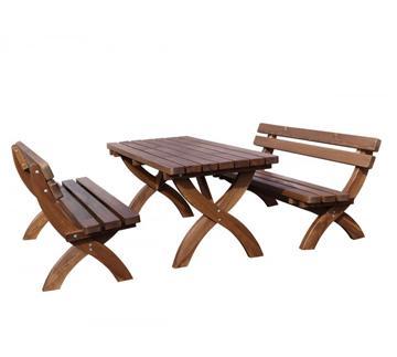 Rustikale Holzmöbel